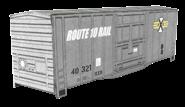 RXR 40ft Boxcar - Gray